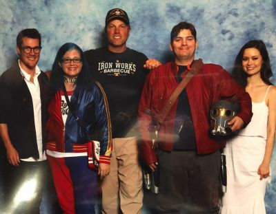 Adam Baldwin, Summer Glau, and Sean Maher - Dragon Con 2016