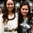 First Images of Summer Glau at Awesome Con