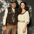 Summer Glau & I at #awesomecon!