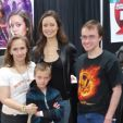 Photo op with Summer Glau at Salt Lake Comic Con FanX