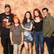 Thank you Adam Baldwin Summer Glau Jewel Staite Sean Maher for taking this picture with me I was so happy I cried!